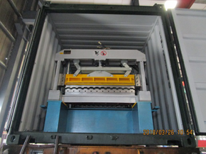 Delivery of Roll Forming Machine to Hungary on March 26,2018