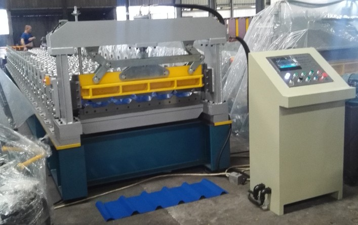 automatic box roll forming machine