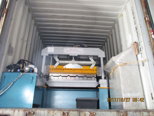 Long Span Roll Forming Machine to Nigeria