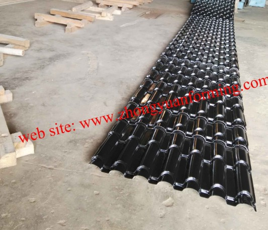 product from Metrocopo roll forming machine
