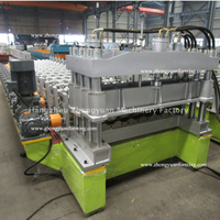 15 Years Lifetime Metropo Roll Forming Forming Machine with Gear Box Transmission