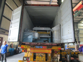 Delivery of Glazed Tile Roll Forming Machine to Serbia on May 31,2018