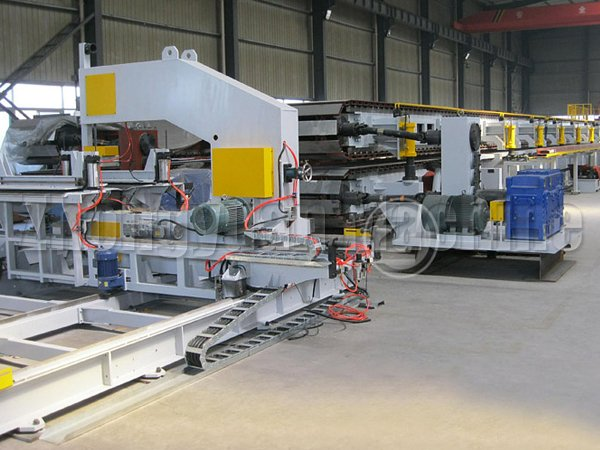 PU Sandwich Panel Forming Machine