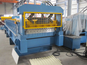 Corrugated Roll Forming Machine/Aluminium Long Span Corrugated Sheet Making Machine