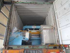 Zhongyuan Aluminium Roofing Forming Machine Delivery to buyer in time