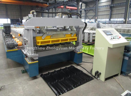 High speed high precision aluminium Step tile machine with gear box transmission
