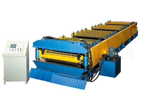 Double layer rolling machine
