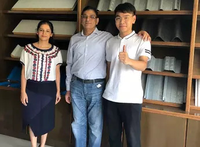 Customer from India for roll forming machine on July 29,2019