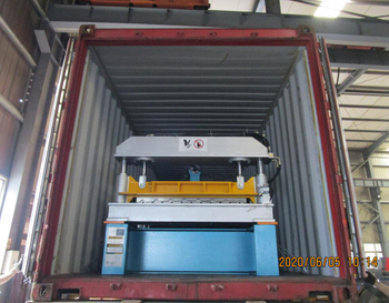R panel roll forming machine delivered to Mexico on June 05,2020
