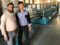 Successful installation of automatic Purlin roll forming machine in Qatar customer factory