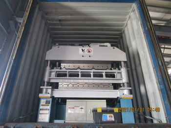 Delivery of Zhongyuan R Panel B&U Panel Double Layer Forming Machine On Jan 31,2021 To Mexico