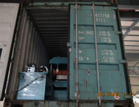 two containers for deck roll forming machine on April 04,2019
