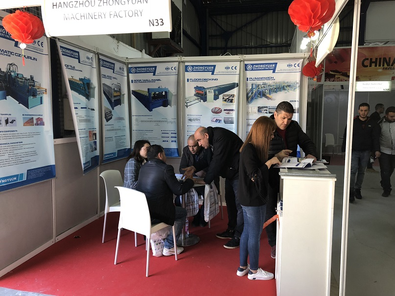 Zhongyuan attended BATIMATEC Building & Construction Exhibition in Algeria
