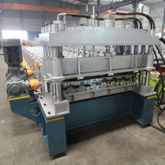 High speed Metropo Roll Forming Forming Machine with Gear Box Transmission